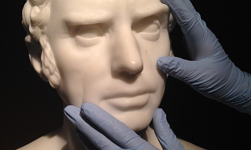 Touch Tour: 19th-Century Sculpture; For visitors who are blind or have partial vision