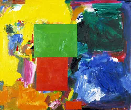 Gallery Experience: Reflecting on Abstract Art