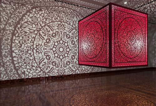 Evenings for Educators: Anila Quayyum Agha: All the Flowers Are for Me
