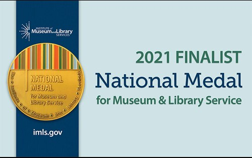 The Institute of Museum and Library Services announced today that the Cincinnati Art Museum is among 30 finalists for the 2021 National Medal for Museum and Library Service.