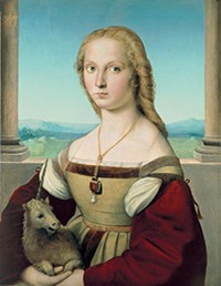 Raphael's Portrait of a Lady with a Unicorn