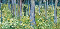 Vincent van Gogh (Dutch, b.1853, d.1890); Undergrowth with Two Figures